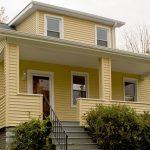 yellow house restoration